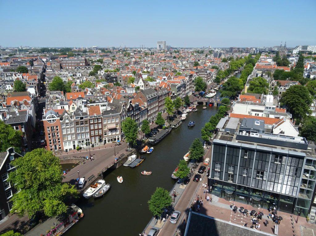 アムステルダムの眺め